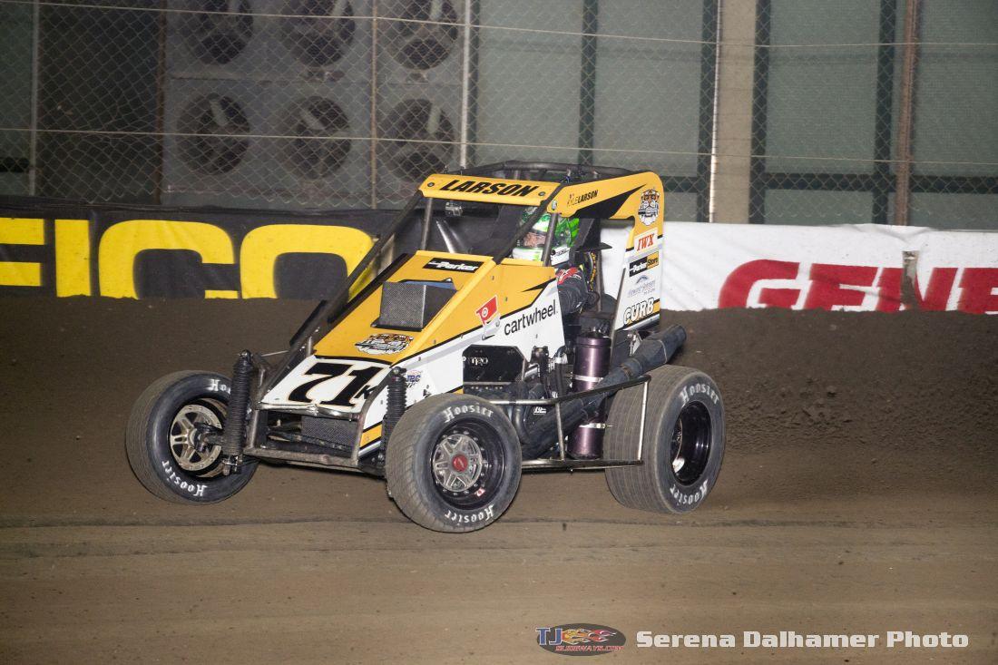 Kyle Larson (Serena Dalhamer photo)