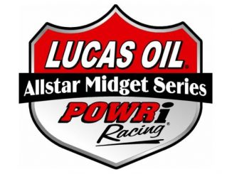 POWRi Allstar Midget Series Top Story Logo