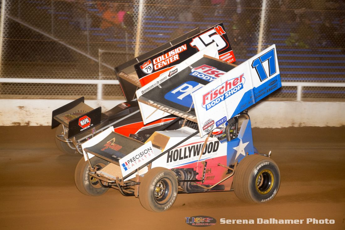 Josh Baughman (17B) and Sam Hafertepe Jr (15H) (Serena Dalhamer photo)
