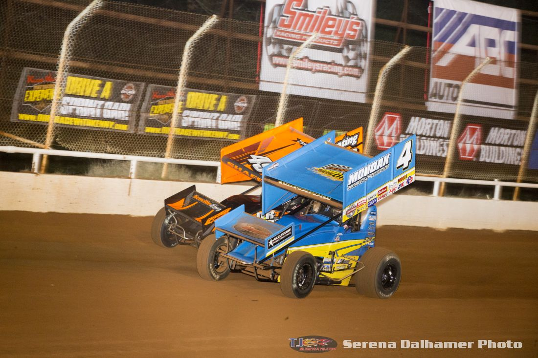 Paul McMahan (4) and Tim Shaffer (49X) (Serena Dalhamer photo)