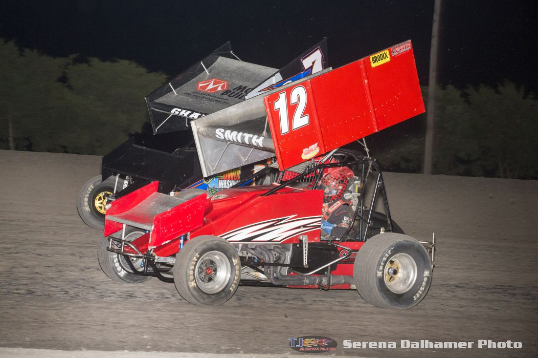 Scott Smith (12) and Kaley Gharst (7) (Serena Dalhamer photo)