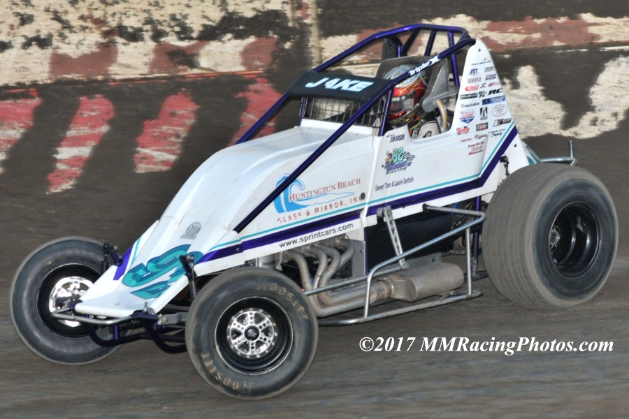 Jake Swanson Leads USAC West Coat Sprints to Peter Murphy