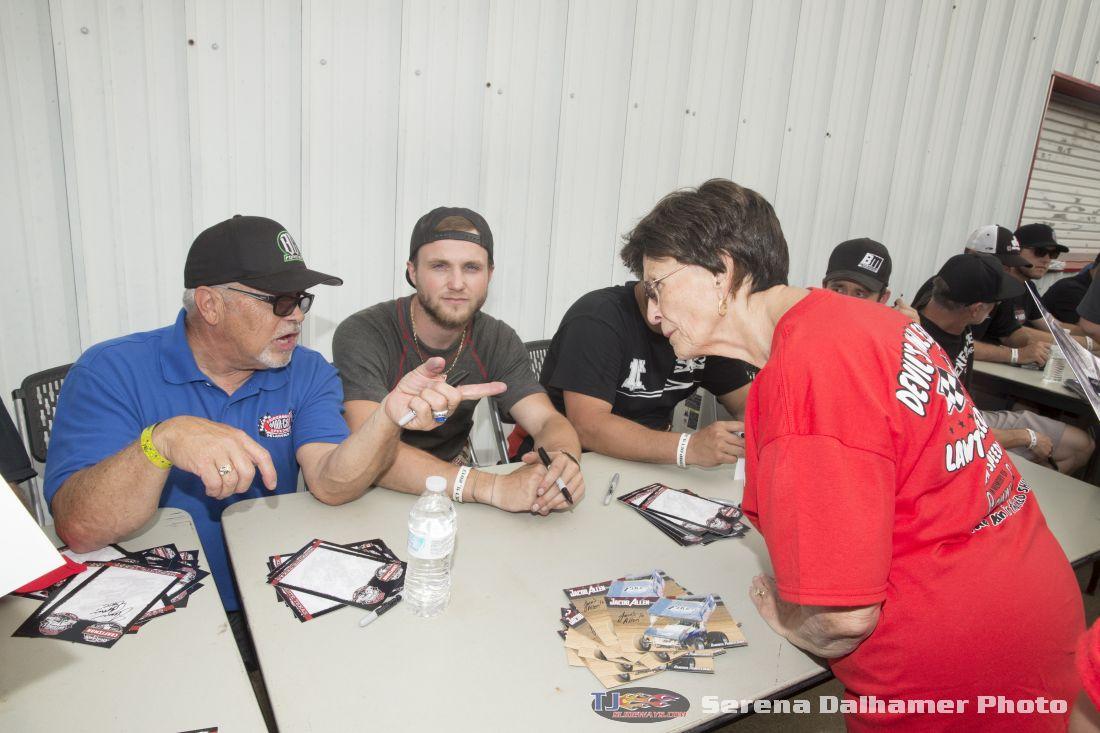 Shane Carson, Jacob Allen, and Beverly Edwards (Serena Dalhamer photo)