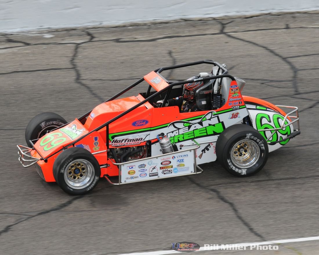 eric gordon to pursue little 500 win 10 with hoffman auto racing tjslideways com tjslideways com