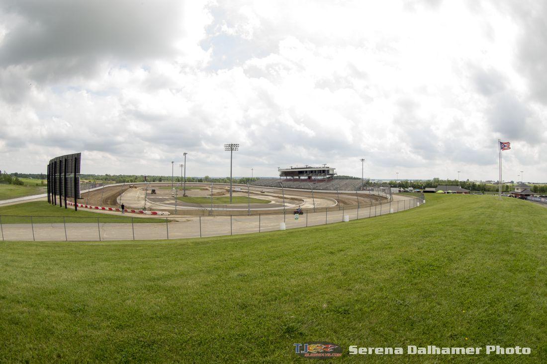 Mansfield Motor Speedway Backtodirt Serena Dalhamer