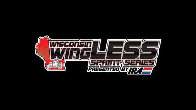 Wisconsin WingLESS Sprint Cars Top Story Logo