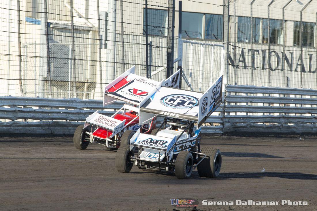 Wade Nygaard (9N) and Matt Juhl (09) (Serena Dalhamer photo)