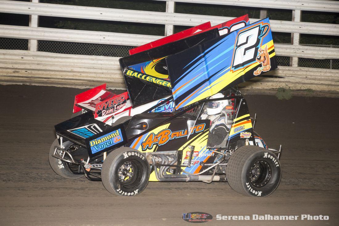 Dusty Ballenger (2D) and Jason Martin (36) (Serena Dalhamer photo)
