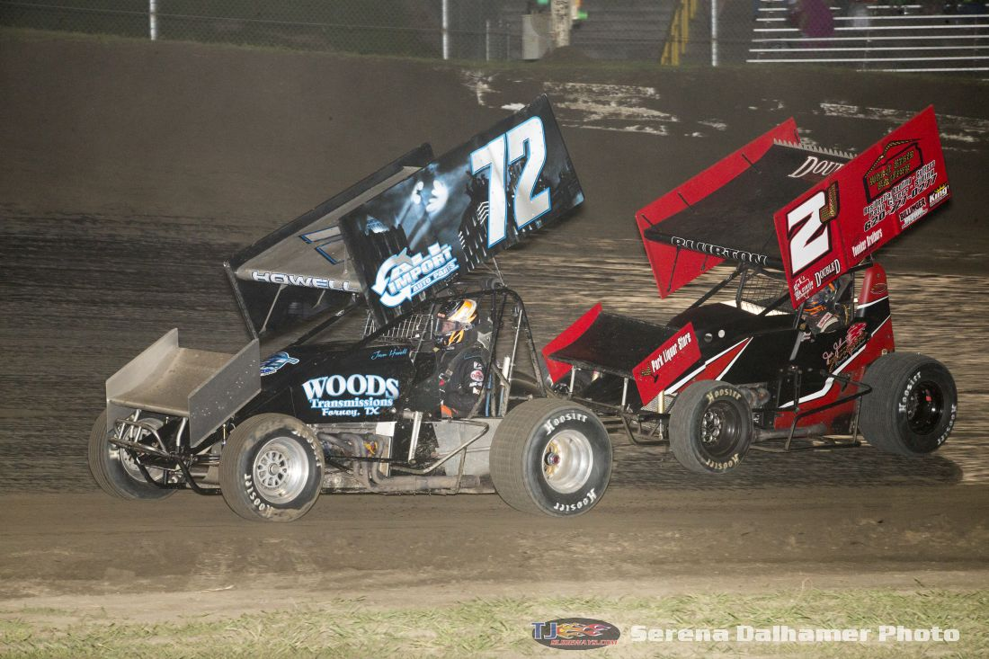 Jason Howell (72) and Zach Blurton (2J) (Serena Dalhamer photo)