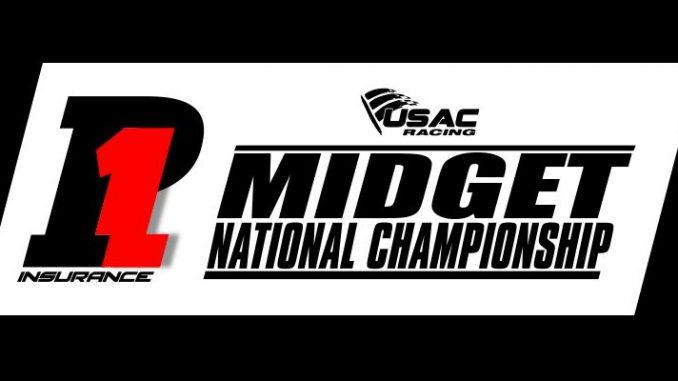 USAC United States Auto Club National Midget Car Series 2018 Top Story Logo