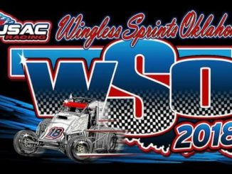 USAC WSO United States Auto Club Wingless Sprints Oklahoma Top Story Logo
