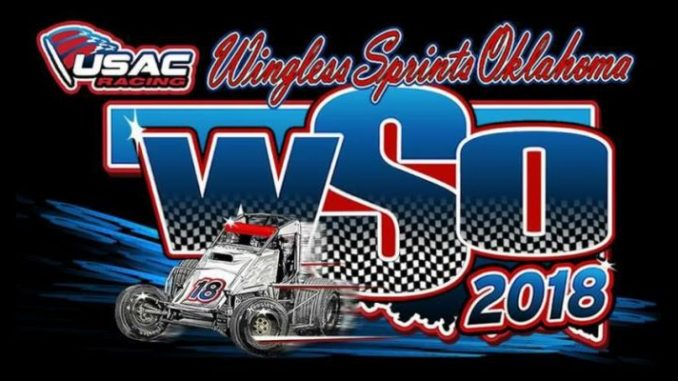 USAC WSO United States Auto Club Wingless Sprints Oklahoma Top Story Logo