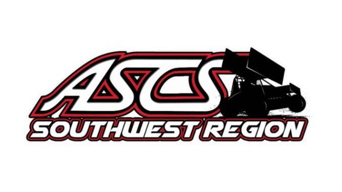 ASCS American Sprint Car Series Southwest Region 2018 Top Story Logo
