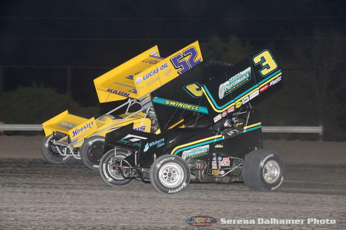 Blake Hahn (52) and Sammy Swindell (3) (Serena Dalhamer photo)