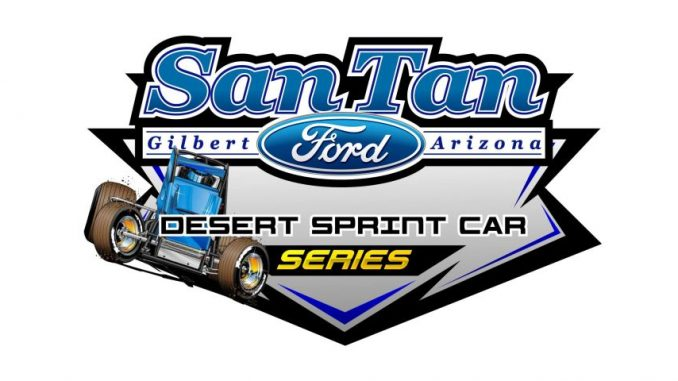 2018 San Tan Ford Desert Sprint Car Series Logo Top Story