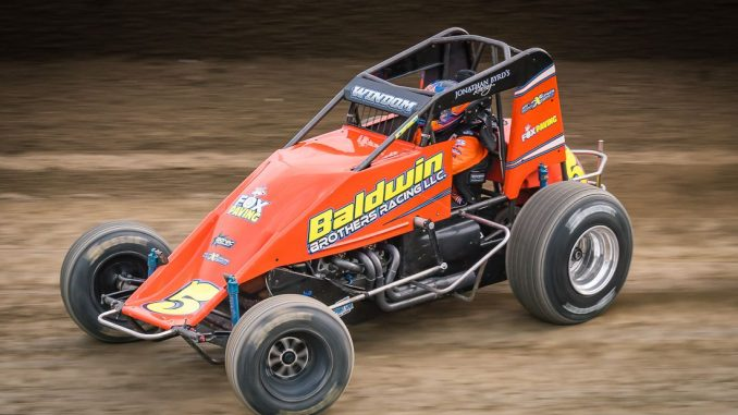 Windom Wins USAC Feature Saturday At Eldora