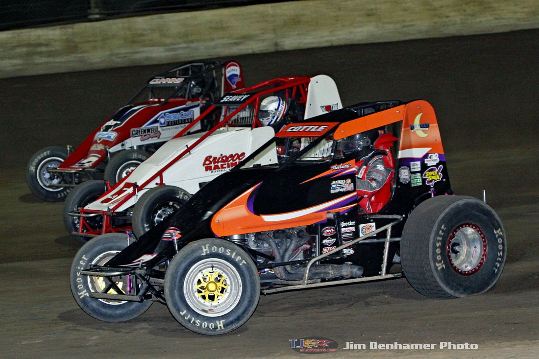 Photo Gallery: Sprint Cars And Midgets Kokomo Speedway