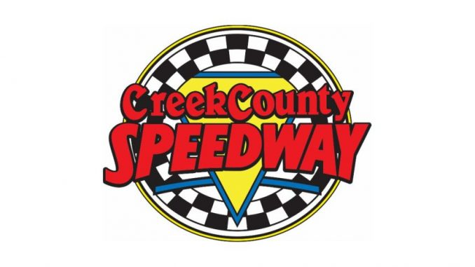 Creek County Speedway Top Story Logo