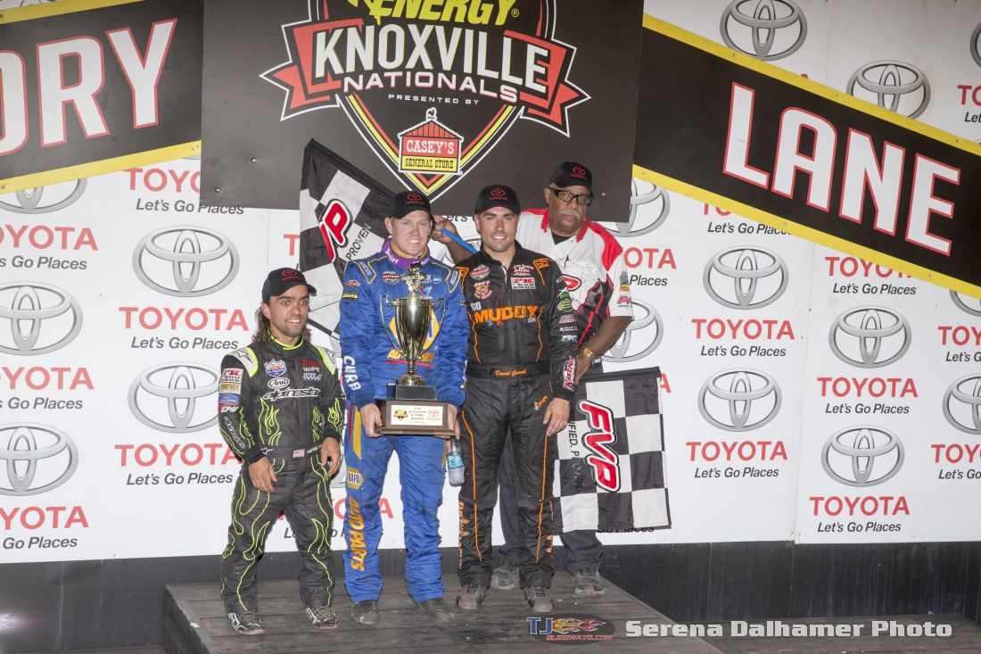 Rico Abreu, Brad Sweet, David Gravel, and Doug Clark (Serena Dalhamer photo)