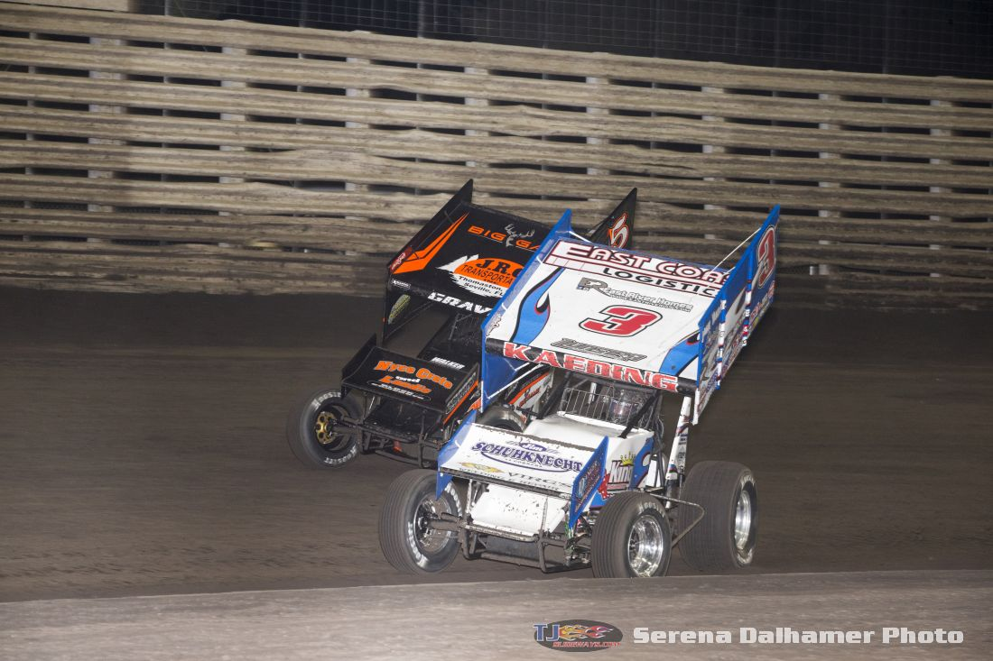 David Gravel (5) and Tim Kaeding (3) (Serena Dalhamer photo)