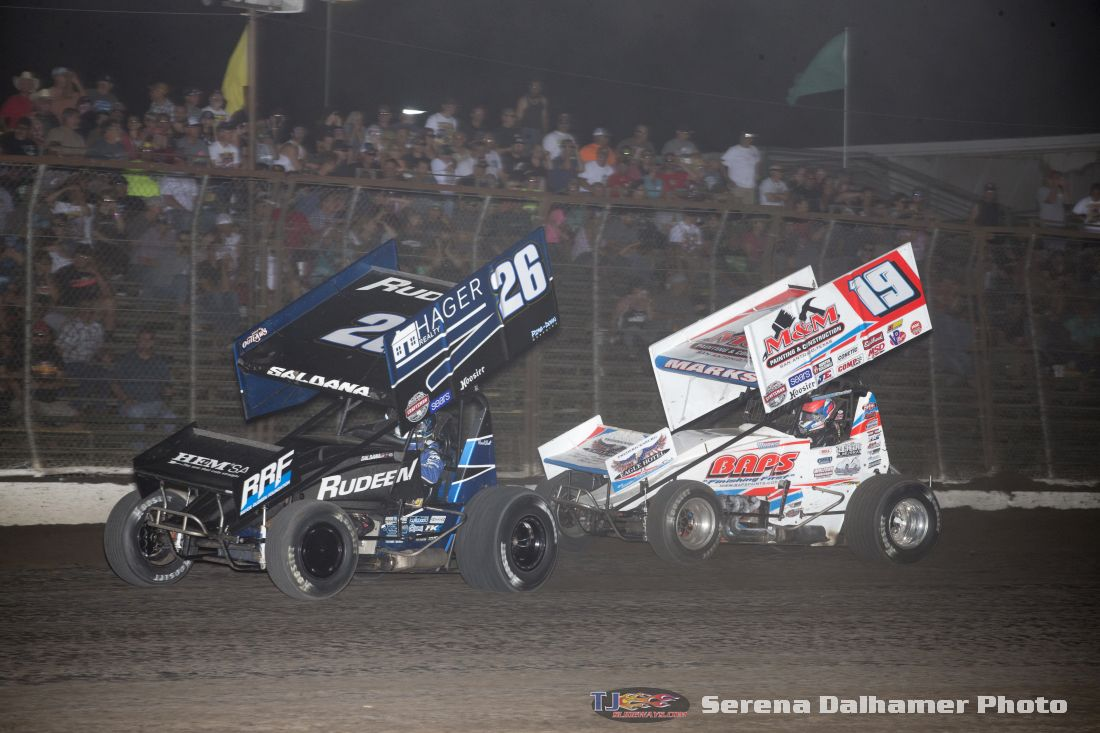 Joey Saldana (26) and Brent Marks (19) (Serena Dalhamer photo)