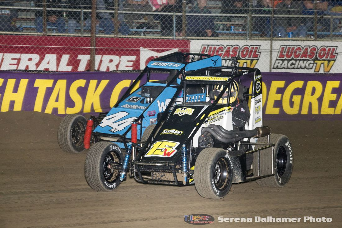 Wesley Smith (44X) and Jeff Wimmenauer (15W) (Serena Dalhamer photo)