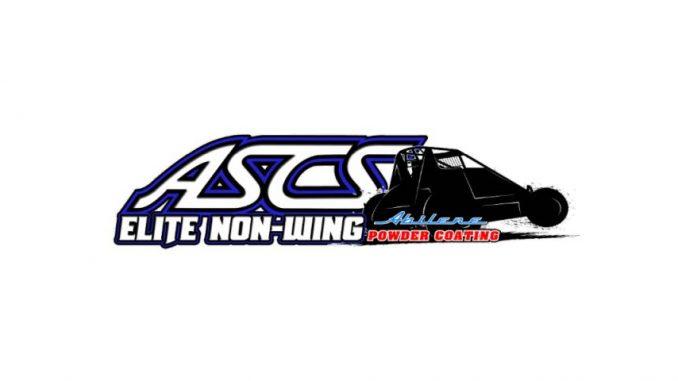 2019 ASCS American Sprint Car Series Elite Non-Wing Sprint Car Series Top Story Logo