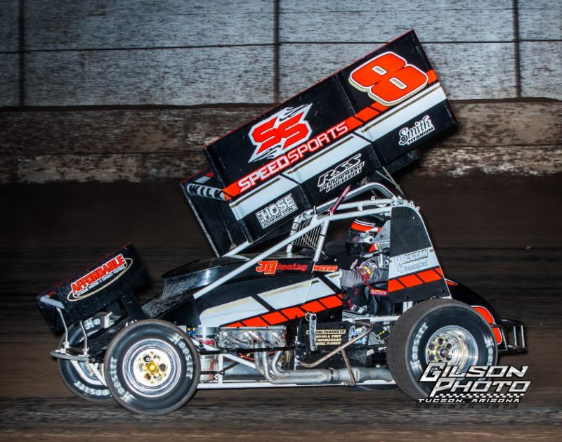 Eric Wilkins Tops ASCS Southwest At Canyon Speedway Park
