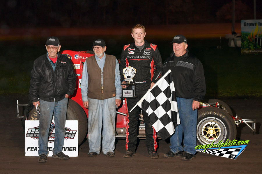 Boyles Wins Season Opening Feature At Gas City