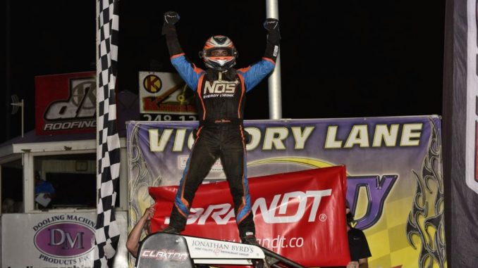 Windom And Courtney Win USAC Features At Tri-City