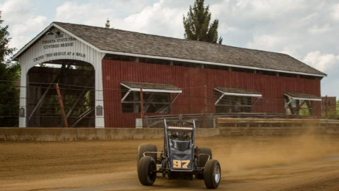Sunshine Prevails at Final Hoosier 100 at the Indiana State