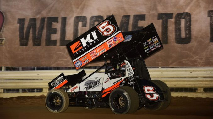 Stewart And Cjb Get First Outlaw Win Of Year At Nashville