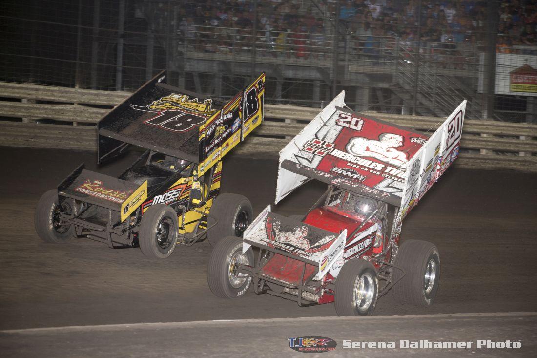 Ryan Roberts (18R) and Greg Wilson (W20) (Serena Dalhamer photo)