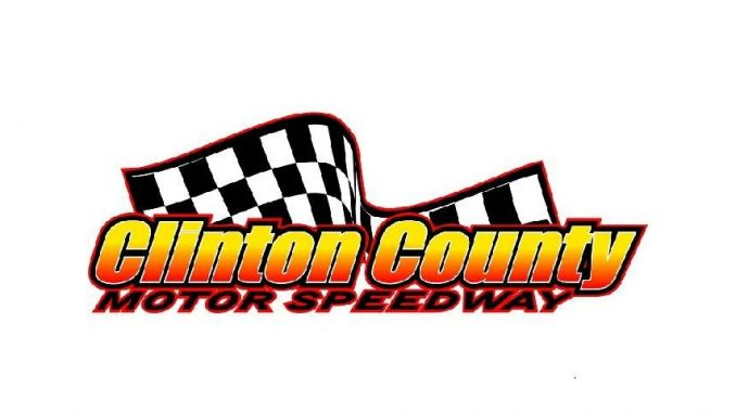 Clinton County Motor Speedway Top Story Logo 2019