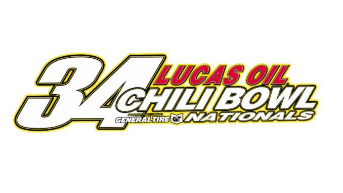 2019 Chili Bowl Nationals Top Story Logo