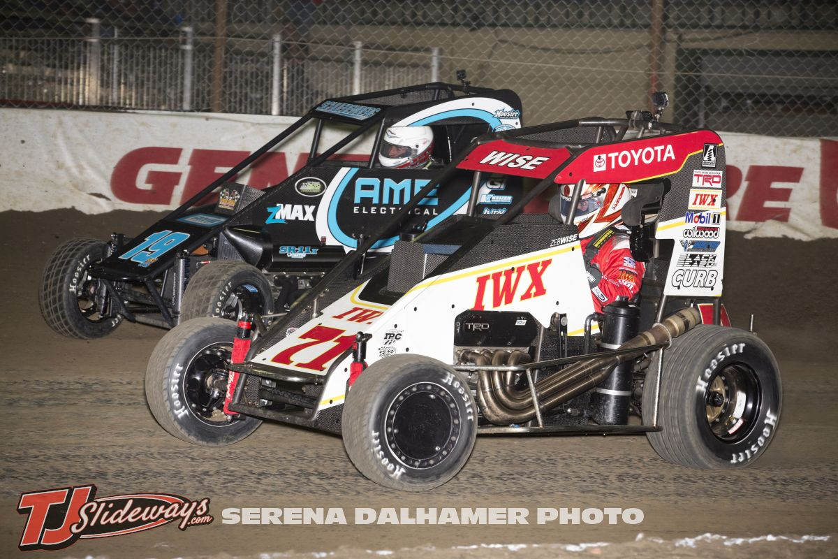 Zeb Wise (71) and Hunter Schuerenburg (19A) (Serena Dalhamer photo)