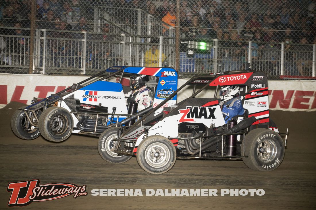 Ryan Newman (6N) and Harley Hollan (15A) (Serena Dalhamer photo)