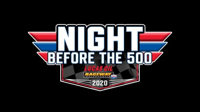 2020 Night Before the 500 Top Story Logo
