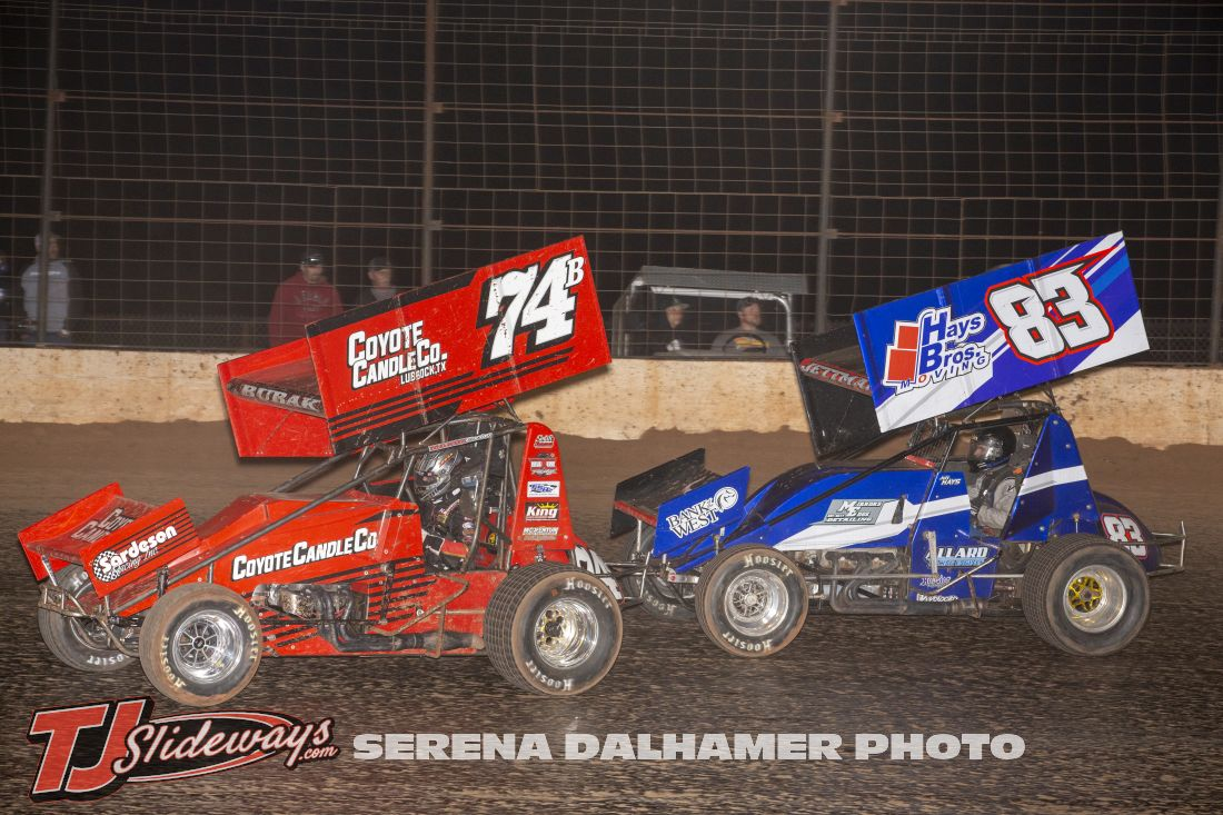 Jake Bubak (74B) and Jett Hays (83) (Serena Dalhamer photo)
