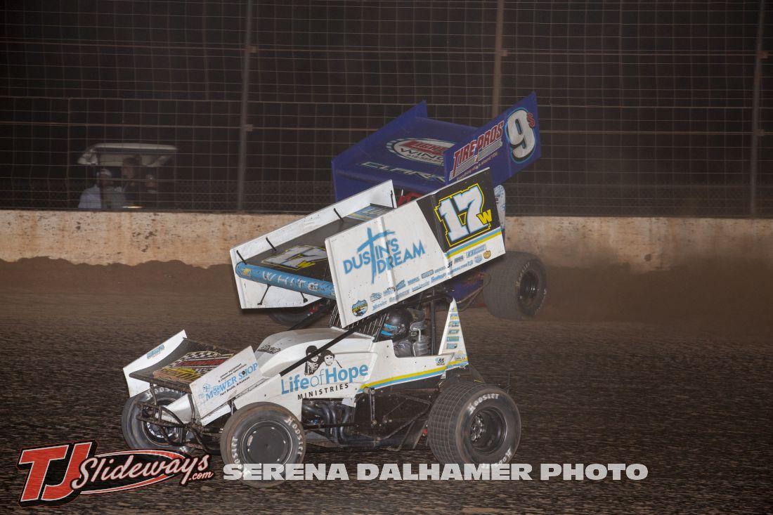 Harli White (17W) and Kyle Clark (9$) (Serena Dalhamer photo)