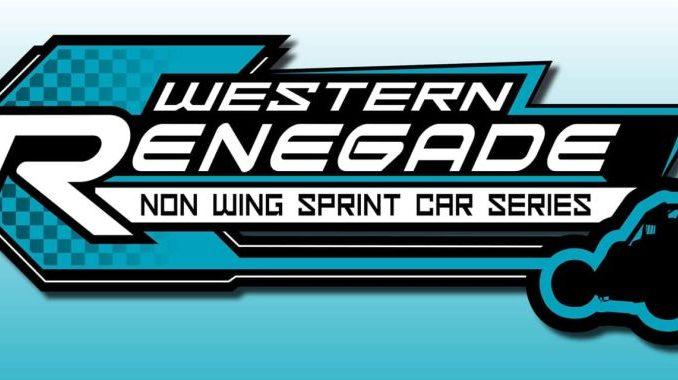 Western Renegade Sprint Car Series Top Story Logo