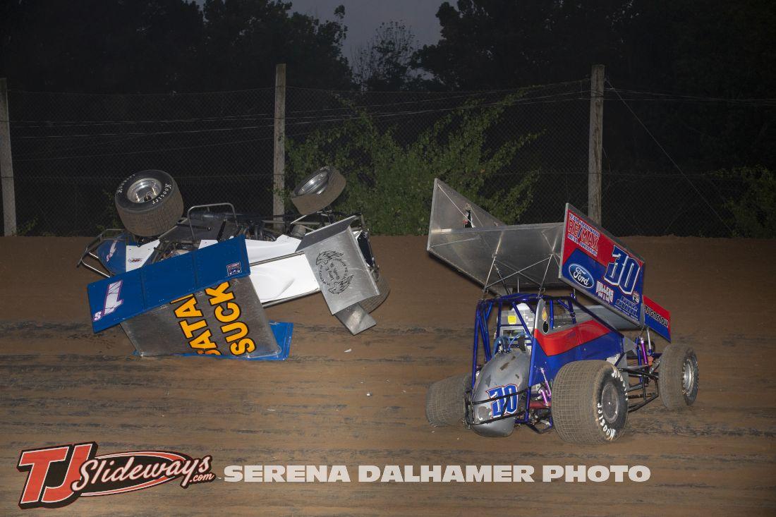 Joey Schmidt (1S) and Joseph Miller (30) (Serena Dalhamer photo)