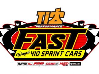 FAST 410 Sprint Car Series Top Story Logo