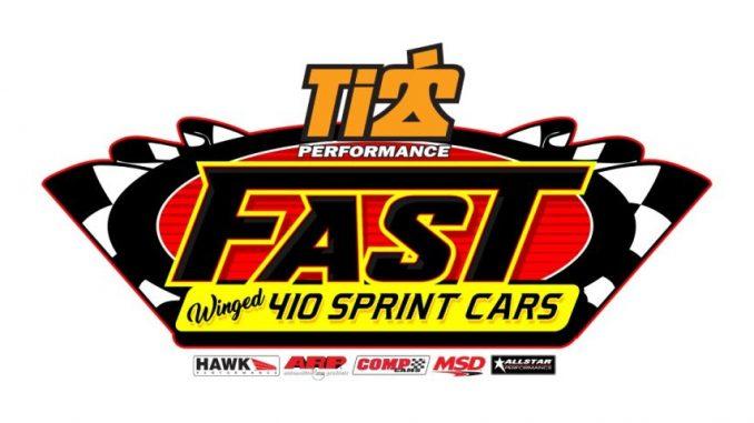 FAST 410 Sprint Car Series Top Story Logo