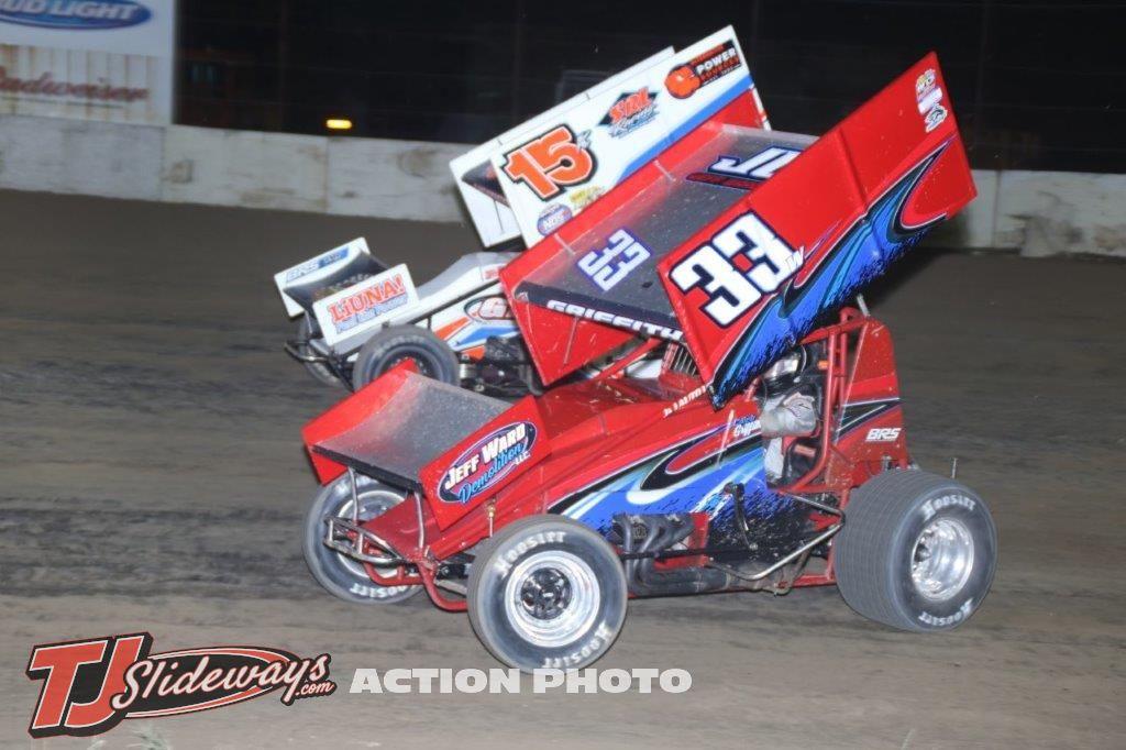 3784- Caleb Griffith (33w) Chad Kemenah (15k) -410
