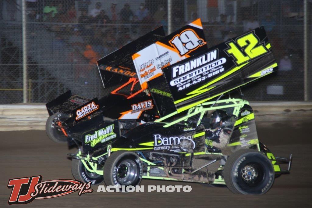 Steve Rando (19r) & Kyle Capodice (12)