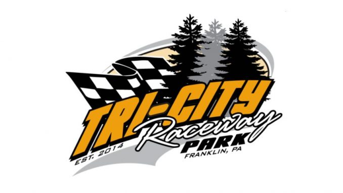 Tri-City Raceway Park Top Story Logo