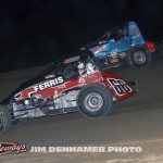 Tyler Gunn (#68g) racing with Steve Irwin (#0). (Jim Denhamer Photo)