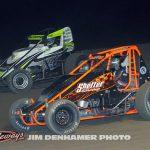 Keith Sheffer (#86) and Cody White (#26). (Jim Denhamer Photo)