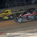 Matt Westfall (#33m) racing with Tyler Gunn. (Jim Denhamer Photo)